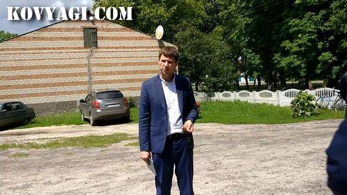 Робочий візит Аксьонова Ю.О. (Відео)