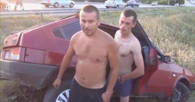 Пьяный Валковский ГАИшник стал звездой Youtube