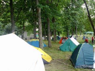 Районные соревнования по туризму 2011