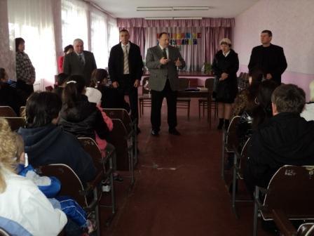 Рабочий визит Савина Е.Е. в пгт. Ковяги