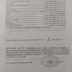 Протокол 8 хімічний аналіз. 2 сторінка