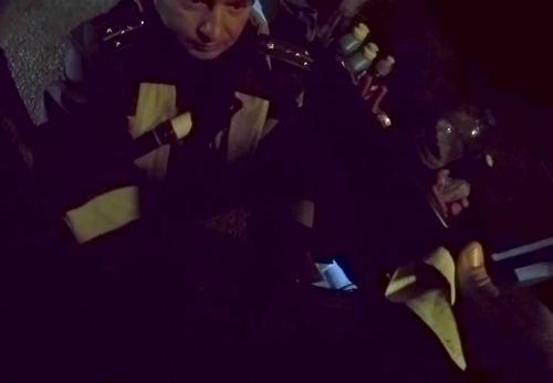 Коррупция на посту полиции г. Валки
