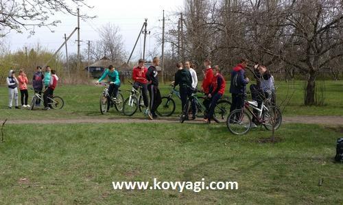 Чемпионат Валковского района по технике велосипедного туризма 2018