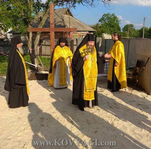 Будівництво Свято-Миколаєвського храму