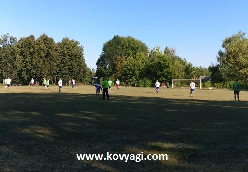 Футбол Ковяги -  Бараново 24 августа 2018 года