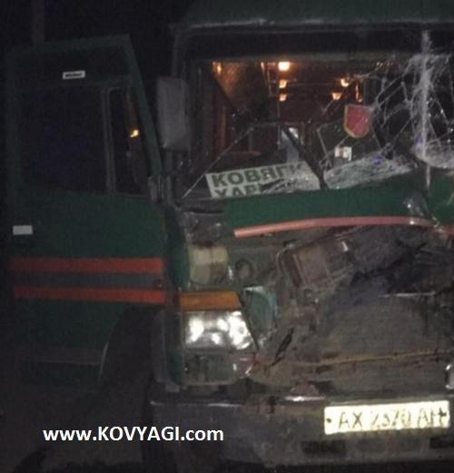 Авария маршрутки Ковяги-Харьков