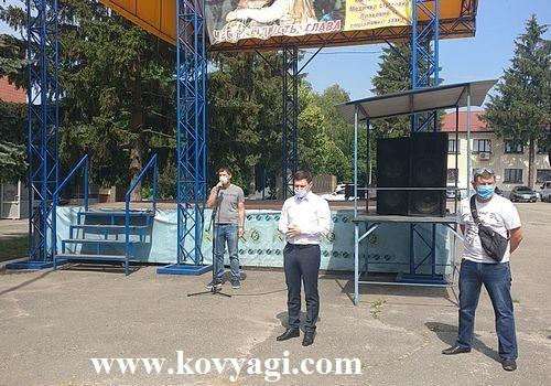 Обговорення нового району. м. Валки (Відео)