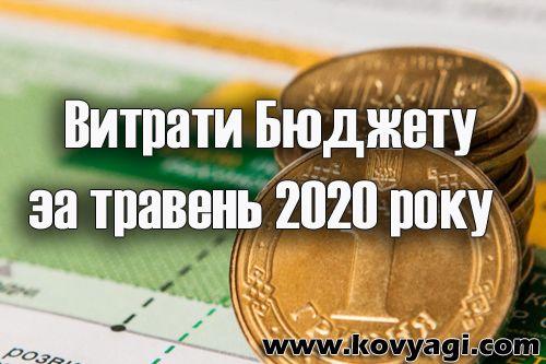 Витрати бюджету Ковяг за травень 2020 року