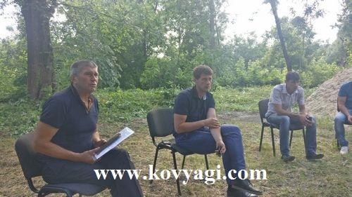 Засідання робочої групи по водопостачанню.