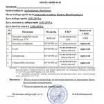 Протокол аналізу води, бактерологічний - 13052015